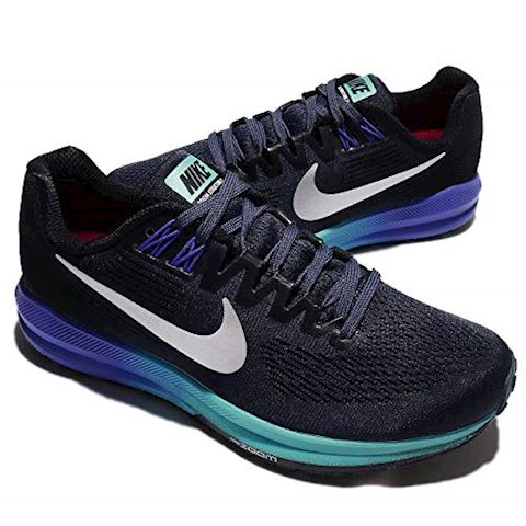 Nike Air Zoom Structure 21 Women's Running Shoe - Blue Image 7
