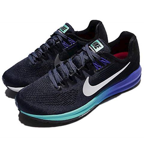 Nike Air Zoom Structure 21 Women's Running Shoe - Blue Image 8