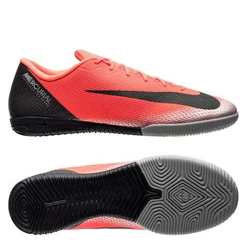 wholesale dealer d2e5d ebe87 Nike MercurialX Vapor XII Academy CR7 Indoor/Court Football Shoe - Red
