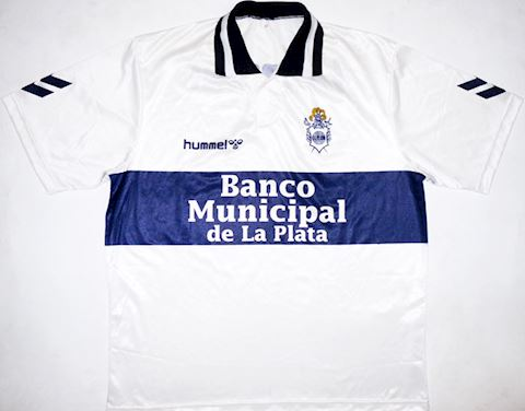 Hummel Gimnasia Mens SS Home Shirt 1995/96 Image