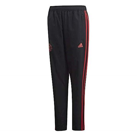adidas Manchester United Training Trousers Woven - Black/Red/Core Pink Kids Image