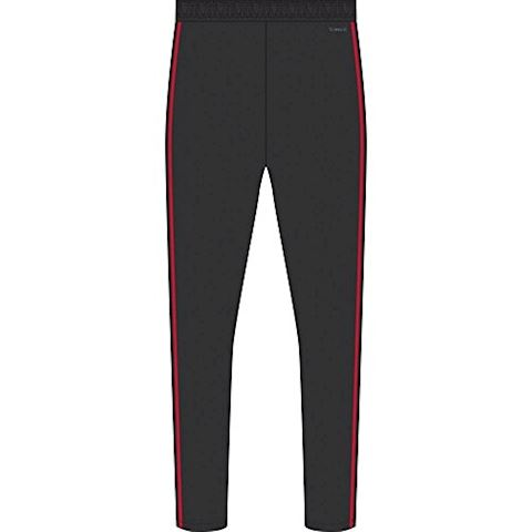adidas Manchester United Training Trousers Woven - Black/Red/Core Pink Kids Image 4