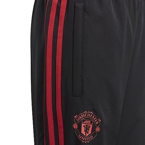 adidas Manchester United Training Trousers Woven - Black/Red/Core Pink Kids Image 5