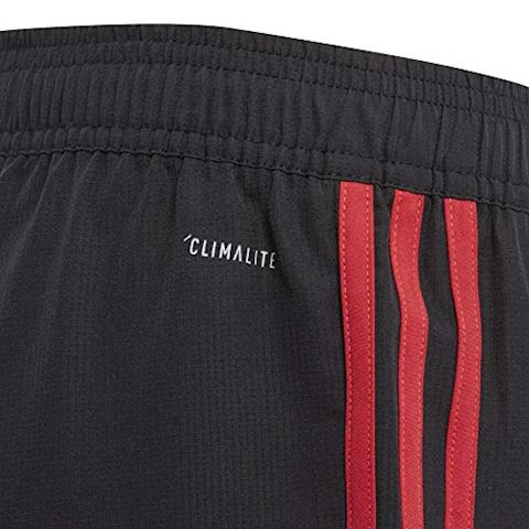 adidas Manchester United Training Trousers Woven - Black/Red/Core Pink Kids Image 8