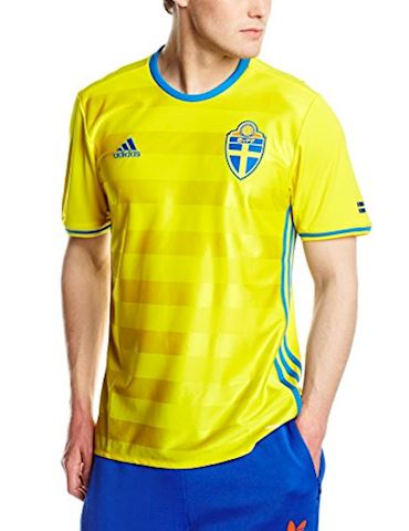 adidas Sweden Mens SS Home Shirt 2016 Image