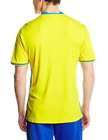 adidas Sweden Mens SS Home Shirt 2016 Image 2