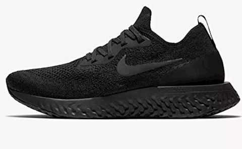 Nike Epic React Flyknit Women's Running Shoe - Black Image