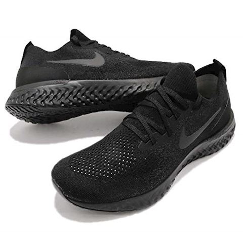 Nike Epic React Flyknit Women's Running Shoe - Black Image 15