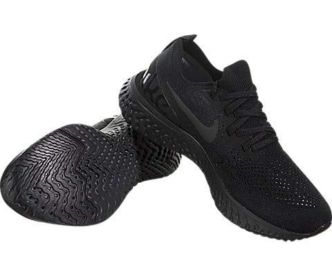 Nike Epic React Flyknit Women's Running Shoe - Black Image 7