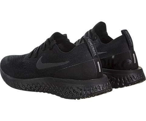 Nike Epic React Flyknit Women's Running Shoe - Black Image 8