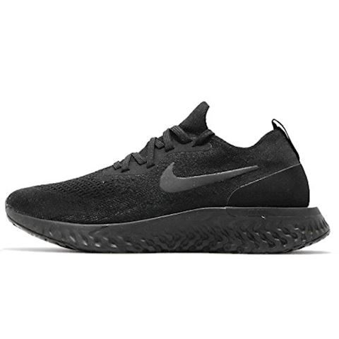 Nike Epic React Flyknit Women's Running Shoe - Black Image 10