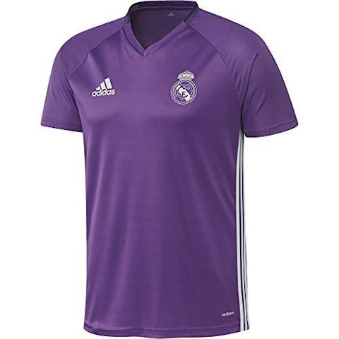 adidas Real Madrid Training T-Shirt Ray Purple/Crystal White Image