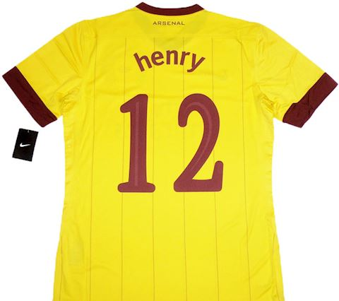 Nike Arsenal Mens SS Player Issue Third European Shirt 2011/12 Image 2