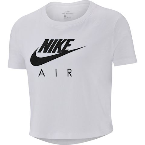 Nike Air Older Kids' (Girls') Crop Top - White Image