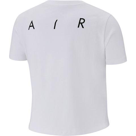 Nike Air Older Kids' (Girls') Crop Top - White Image 2