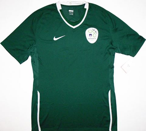 Nike Slovenia Mens SS Player Issue Away Shirt 2008 Image