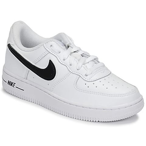 18060967d5 Nike AIR FORCE 1-3 PS girls's Shoes (Trainers) in White | BQ2459-100 ...