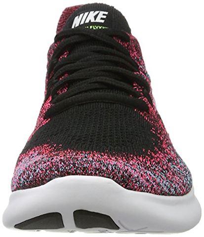 Nike Free RN Flyknit 2017 Women's Running Shoe - Black Image 4