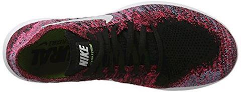 Nike Free RN Flyknit 2017 Women's Running Shoe - Black Image 7