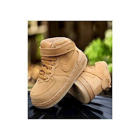 new concept ab4a3 3f265 Nike Air Force 1 Mid LV8 Baby Toddler Shoe - Brown Image