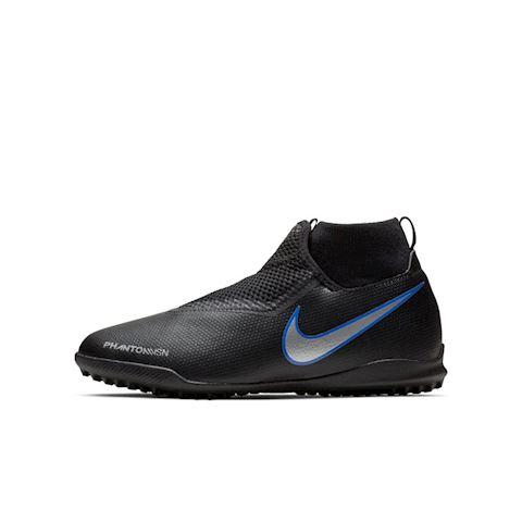 Nike Jr. Phantom Vision Academy Dynamic Fit Younger/Older Kids'Turf Football Shoe - Black Image
