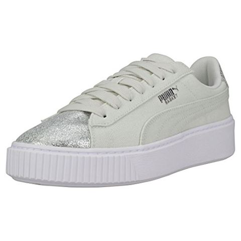 quality design 26847 f20f8 Puma BASKET PLATFORM CANVAS W'S women's Shoes (Trainers) in Green