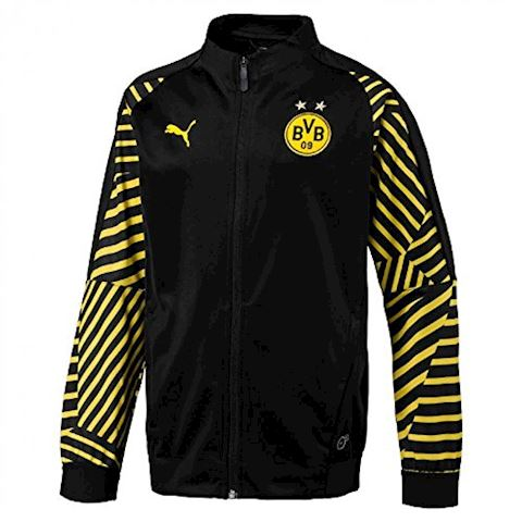 Dortmund Stadium Jacket - PUMA Black Kids Image
