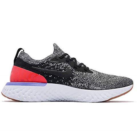 Nike Epic React Flyknit Men's Running Shoe - Black Image 2