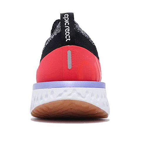 Nike Epic React Flyknit Men's Running Shoe - Black Image 3