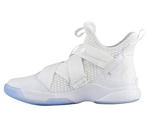 Nike LeBron Soldier 12 SFG Basketball Shoe - White Image 2