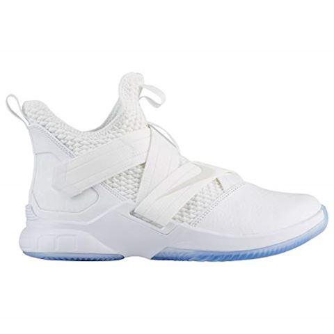 Nike LeBron Soldier 12 SFG Basketball Shoe - White Image 5