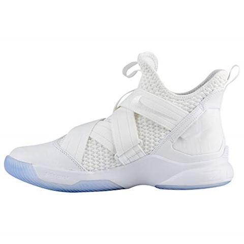 Nike LeBron Soldier 12 SFG Basketball Shoe - White Image 6