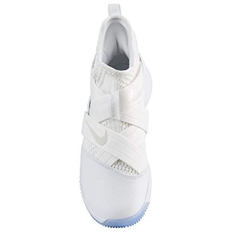 Nike LeBron Soldier 12 SFG Basketball Shoe - White Image 8
