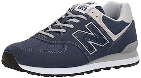 New Balance  ML574  men's Shoes (Trainers) in Blue Image