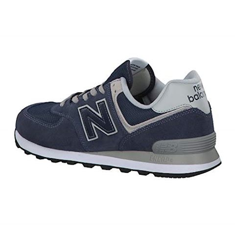 New Balance  ML574  men's Shoes (Trainers) in Blue Image 11
