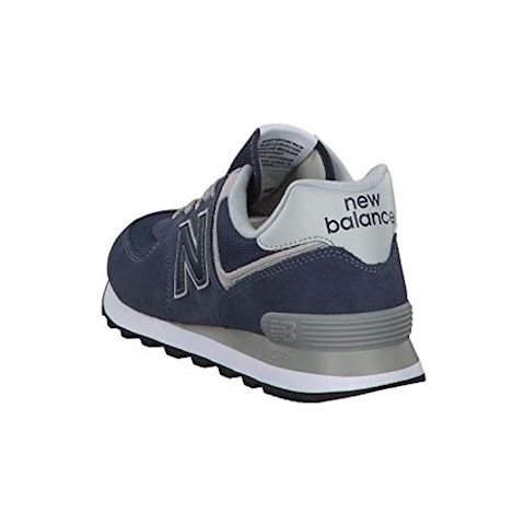 New Balance  ML574  men's Shoes (Trainers) in Blue Image 12