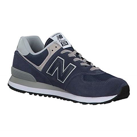 New Balance  ML574  men's Shoes (Trainers) in Blue Image 17