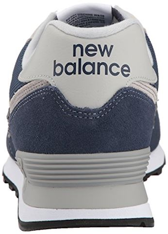 New Balance  ML574  men's Shoes (Trainers) in Blue Image 2