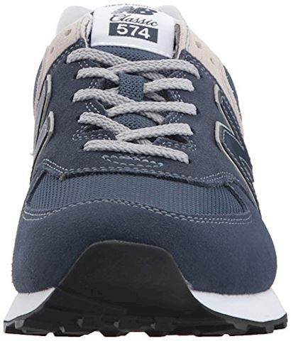 New Balance  ML574  men's Shoes (Trainers) in Blue Image 4