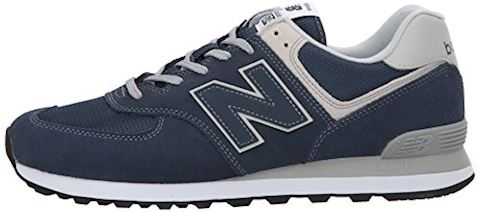 New Balance  ML574  men's Shoes (Trainers) in Blue Image 5