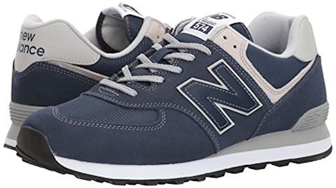 New Balance  ML574  men's Shoes (Trainers) in Blue Image 6