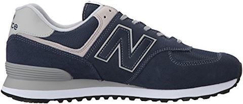 New Balance  ML574  men's Shoes (Trainers) in Blue Image 7
