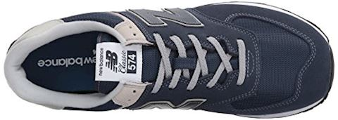 New Balance  ML574  men's Shoes (Trainers) in Blue Image 8