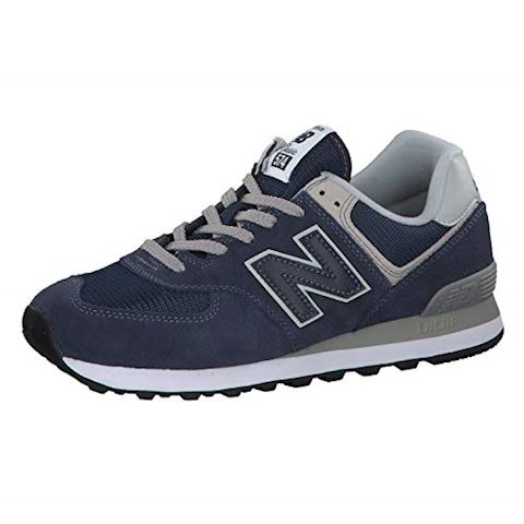 New Balance  ML574  men's Shoes (Trainers) in Blue Image 9
