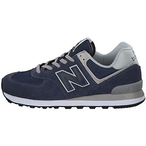 New Balance  ML574  men's Shoes (Trainers) in Blue Image 10