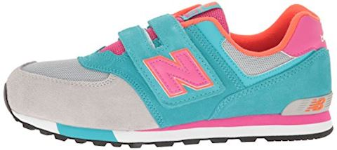 New Balance 574 Cut and Paste Hook and Loop Kids Infant Shoes Image 5