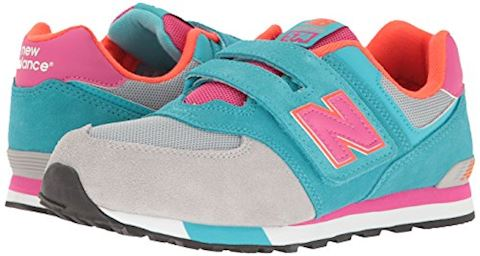 New Balance 574 Cut and Paste Hook and Loop Kids Infant Shoes Image 6