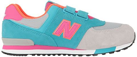 New Balance 574 Cut and Paste Hook and Loop Kids Infant Shoes Image 7