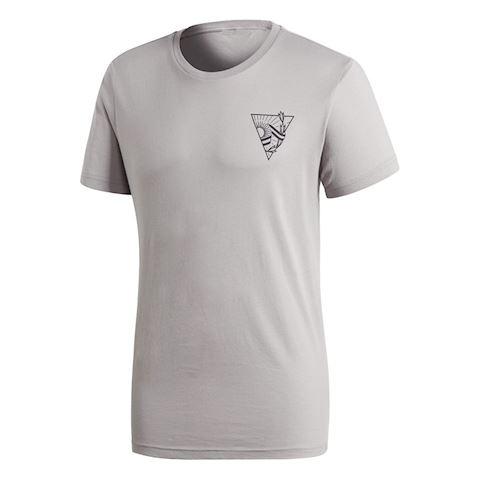 adidas Argentina T-Shirt Graphic - Solid Grey/Black Image