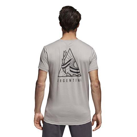 adidas Argentina T-Shirt Graphic - Solid Grey/Black Image 2